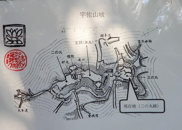 宇佐山城跡三の丸跡 (4)