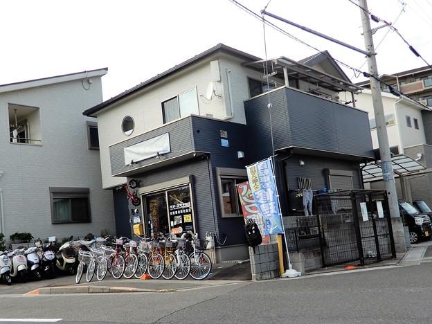 唐崎の自転車屋さん (2)