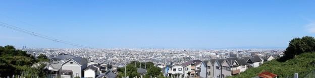 2020年9月1日墓地からの眺望