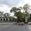 JR唐崎駅前から湖岸道路へ