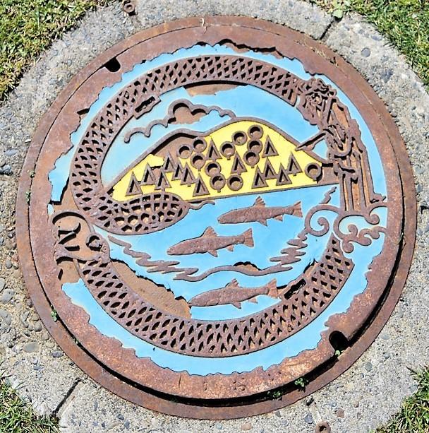 Photos: 081-0200北海道河東郡鹿追町のマンホール