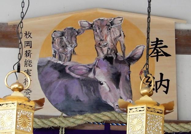 2021年枚岡神社絵馬