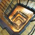 東京駅ステーションギャラリー螺旋階段