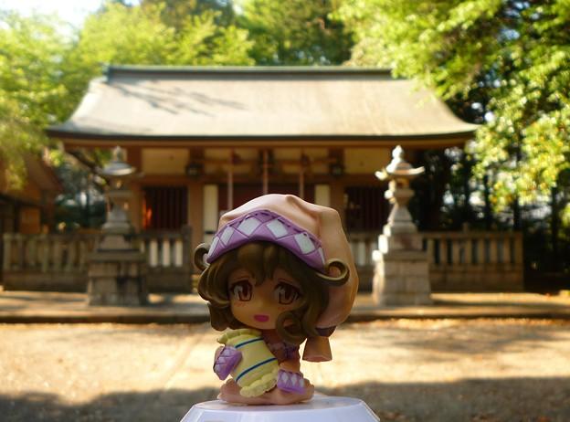 月讀神社と月読の巫女ささみさん