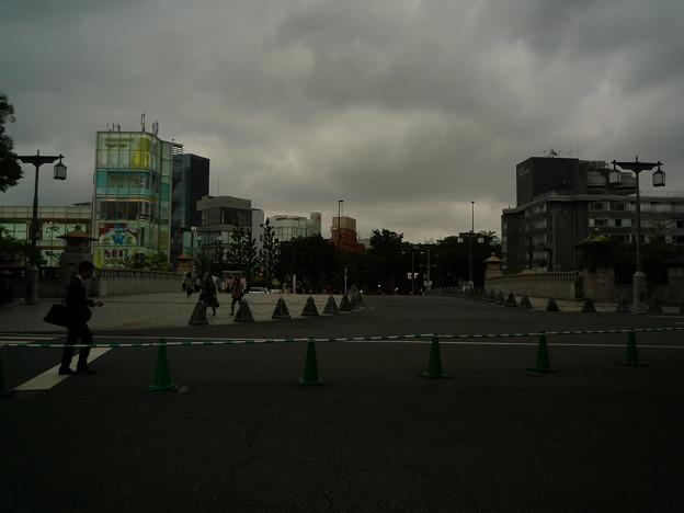 南参道を出てすぐの表参道神宮橋に来ました。