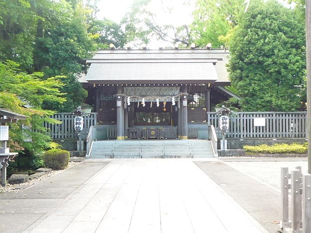 神明社・天照太神宮拝殿