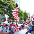 亜細亜と祖国を防衛し散華された英霊方が眠る靖国神社を守護し、皇室・皇統を守護するために日本全国から集まった一般の日本国民