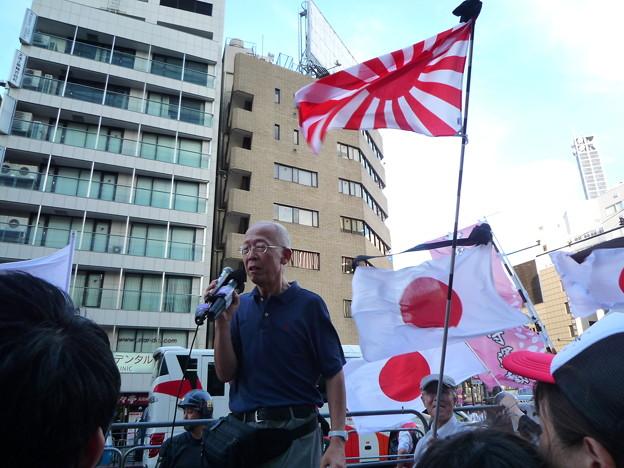 元 楯の会会員 村田春樹先生です。