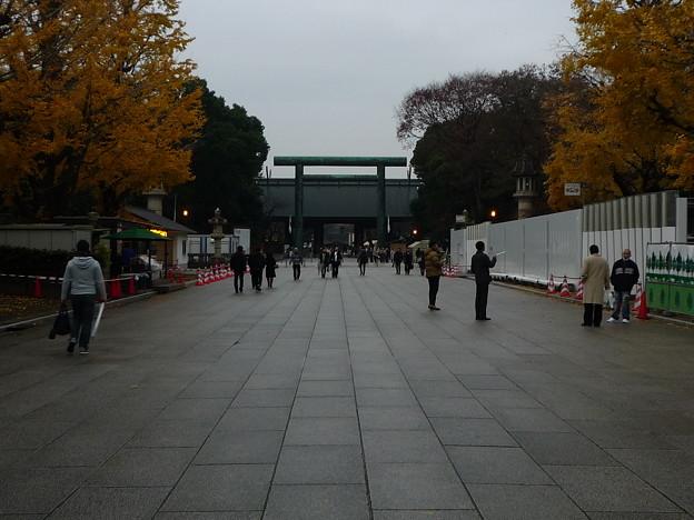 靖国神社参道