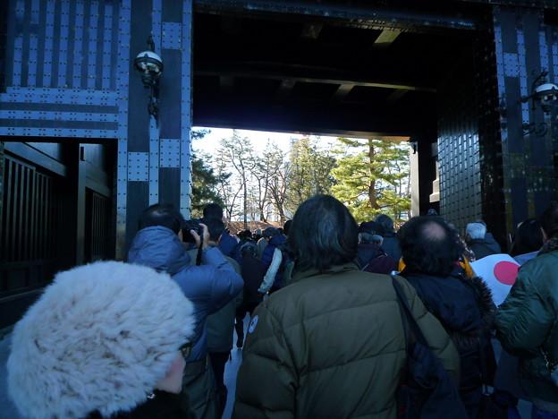 皇居正門です。