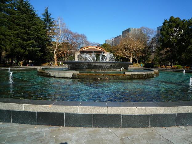 日比谷公園の大噴水