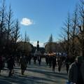 Photos: 正面に見えますのは大村益次郎銅像