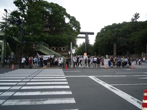 渋谷から九段下へ参りました、九段坂を登り切ったところ。