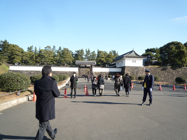 1お正月の桜田門
