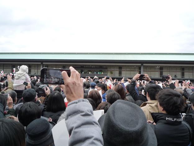 Photos: 天皇陛下、上皇陛下のお出まし。(日本に生まれて良かった