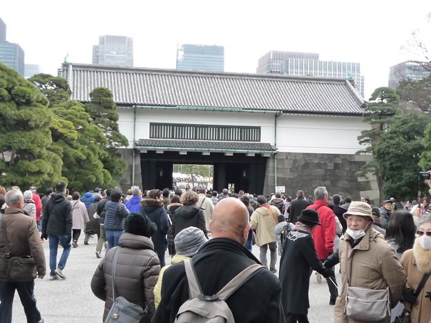 Photos: お正月の坂下門