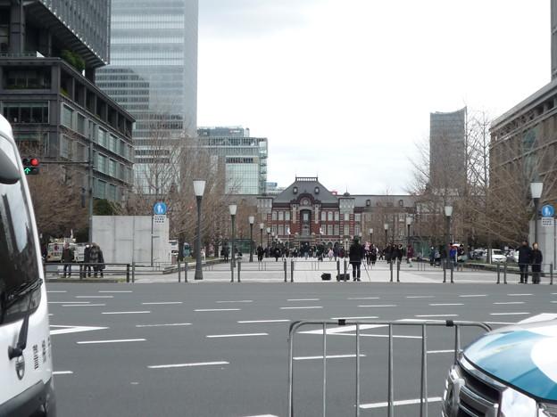 お正月の東京駅