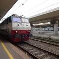 写真: ミラノ行きIC(ピサ駅)