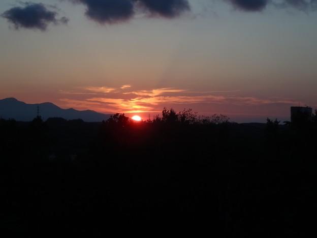 日没は19時過ぎ
