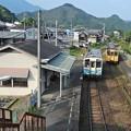 Photos: 予土線・列車の交差