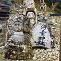Photos: 河童神社の木像