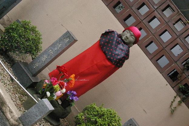 赤坂見附「身代わり地蔵と子育て地蔵」さま