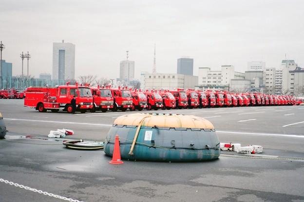 957 東京消防庁 東京消防出初式 第七、第八、第九方面ポンプ車隊