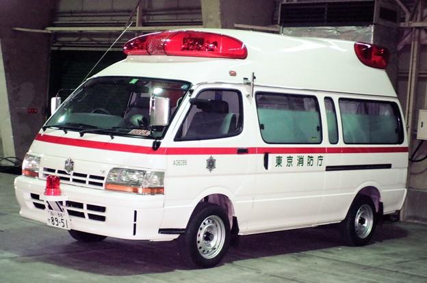 812 東京消防庁 救急部救急医務課 特殊救急車
