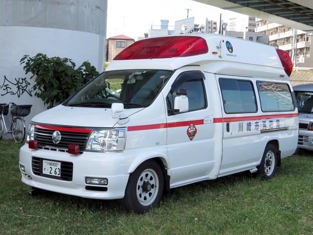 755 川崎市消防局 高津消防署 非常用救急車
