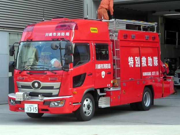 107 川崎市消防局 高津救助工作車