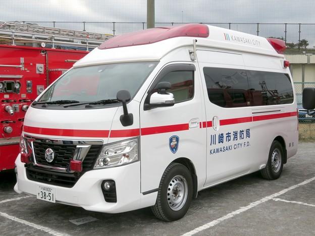 697 川崎市消防局 麻生救急車