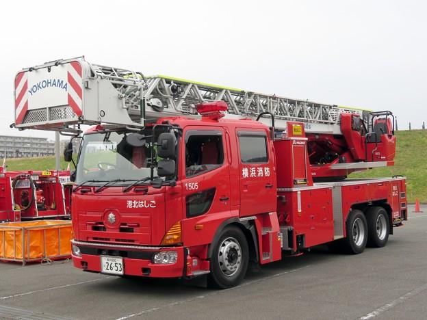 107 横浜市消防局 港北はしご車