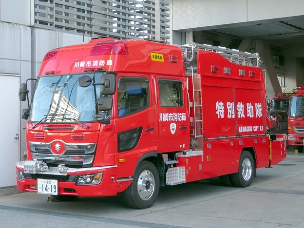 087 川崎市消防局 中原救助工作車