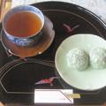 Photos: 餅と茶