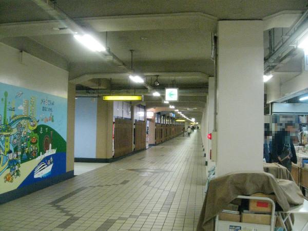 Photos: 地下通路