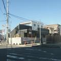 Photos: 看板の出る街角
