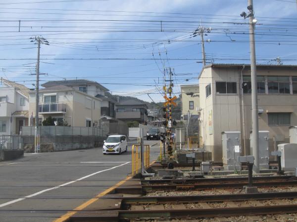 東須磨踏切