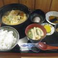 鯖味噌定食
