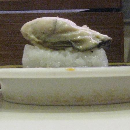 牡蠣の側方