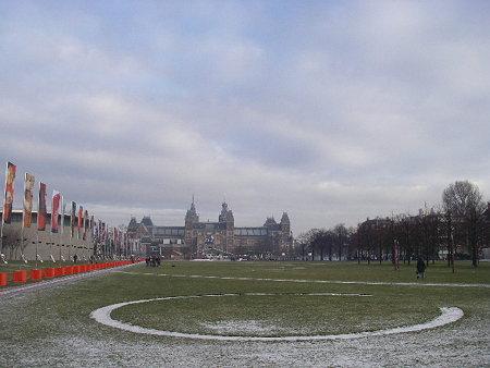 アムステルダムにて