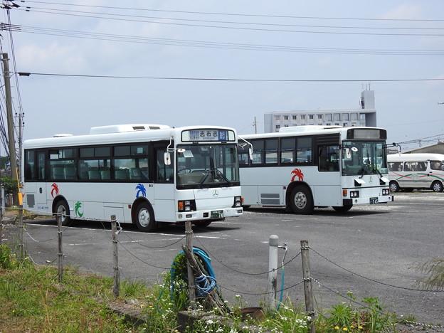 74号車・965号車(元東武バス)