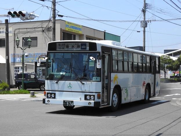 974号車(元東武バス)