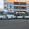 Photos: 1029号車・1812号車(元京成バス)・1048号車(元西武バス)