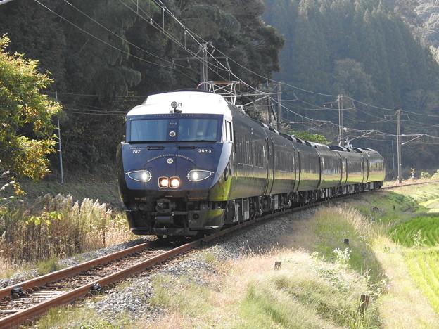 """【JR九州】787系 BM363 """"36ぷらす3"""" 《6号車先頭》"""
