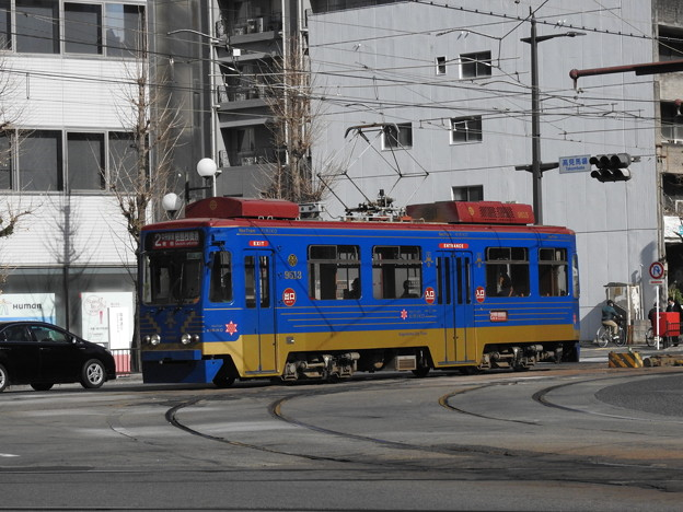 【鹿児島市電】9500形 9513号車(NextTram KIRIKO)