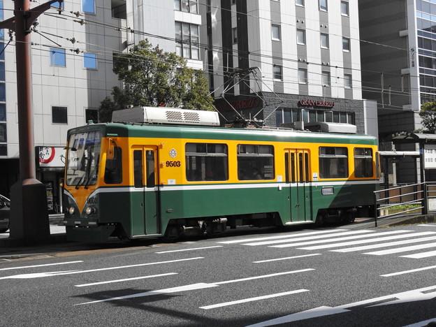 【鹿児島市電】9500形 9503号車