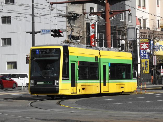 【鹿児島市電】7500形 7502号車
