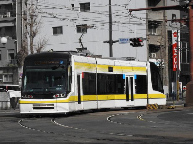 【鹿児島市電】7000形 7003号車
