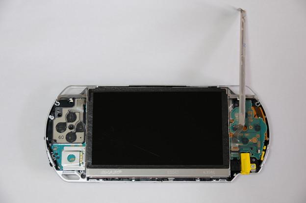 PSP液晶自力交換 05