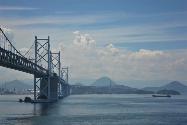 瀬戸大橋(与島パーキングから)